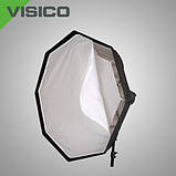 Софтбокс с сотами Visico EB-072G 120см quickly umbrella, фото 5