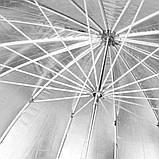 Фотозонт Visico AU160-A (100см) Silver/Black параболический, фото 3