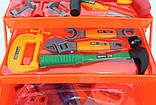 Набор инструментов детский Metr+ 2108 Красный, фото 2