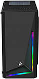 Корпус 1stPlayer R2-R1 Color LED Black без БП, фото 2