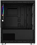 Корпус 1stPlayer R2-R1 Color LED Black без БП, фото 3