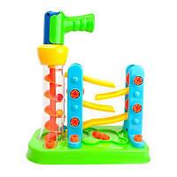 Конструктор Edu-Toys Горка-зигзаг с инструментами (JS021), фото 1