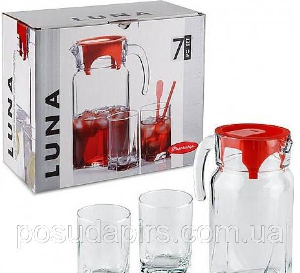 Набор кувшин и 6 стаканов  Luna 97328