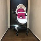 Детская коляска 2в1 Hot Mom Белая (HM-W), фото 3
