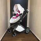Детская коляска 2в1 Hot Mom Белая (HM-W), фото 7