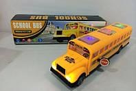 Муз. автобус QC9855 (ZR526) (72шт/2) батар,свет,звук,в коробке 29,2*8,1*7,4см