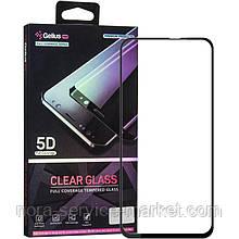 Защитное стекло Gelius Pro 5D Clear Glass for Samsung A606 (A60) Black