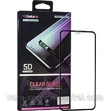 Защитное стекло Gelius Pro 5D Clear Glass for iPhone 11 Pro Max Black
