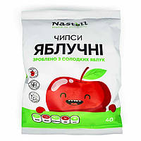 Чипсы яблочные Nastell натуральные из сладких сортов яблок 40 г