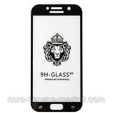 Защитное стекло Optima 3D for Samsung A720 (A7-2017) Black