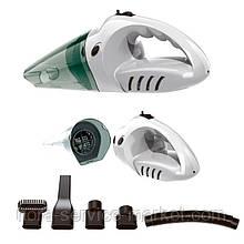 Gelius Portable Vacuum Cleaner GP-VC001 Hurricane White (Пилосос)
