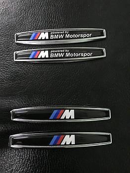 BMW X1 F-48 2015↗ гг. Наклейка на крыло (2 шт, металл) M
