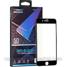 Защитное стекло Gelius Pro 5D Anti-Blue Glass for iPhone 7 Plus/8 Plus Black