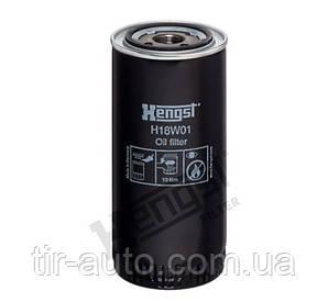 Фильтр масляный DAF/IVECO/MAN ( HENGST ) H18W01