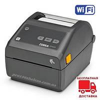 Термопринтер этикеток и штрихкодов Zebra ZD420D Direct Termal Wi-Fi + USB