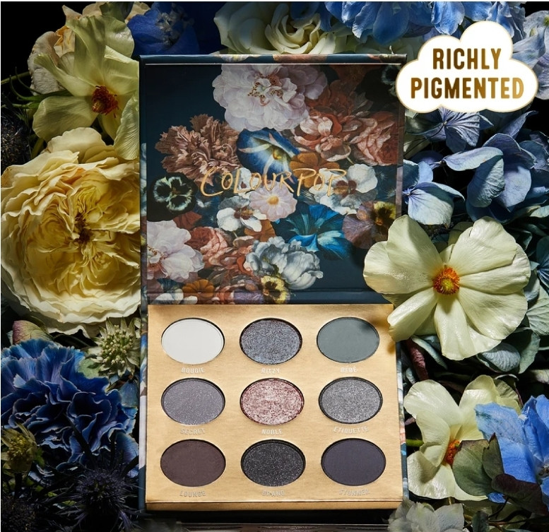 Палетка теней ColourPop Baroque Eyeshadow Palette Review & Swatches
