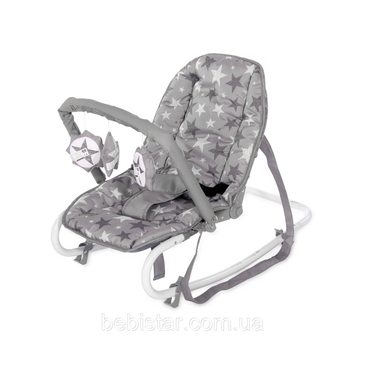 Кресло-качалка Lorelli Rock Star для малышей с рождения до 9 месяцев