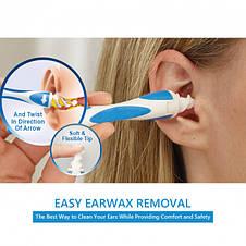 Прибор для чистки ушей Smart Swab со сменными насадками, фото 3