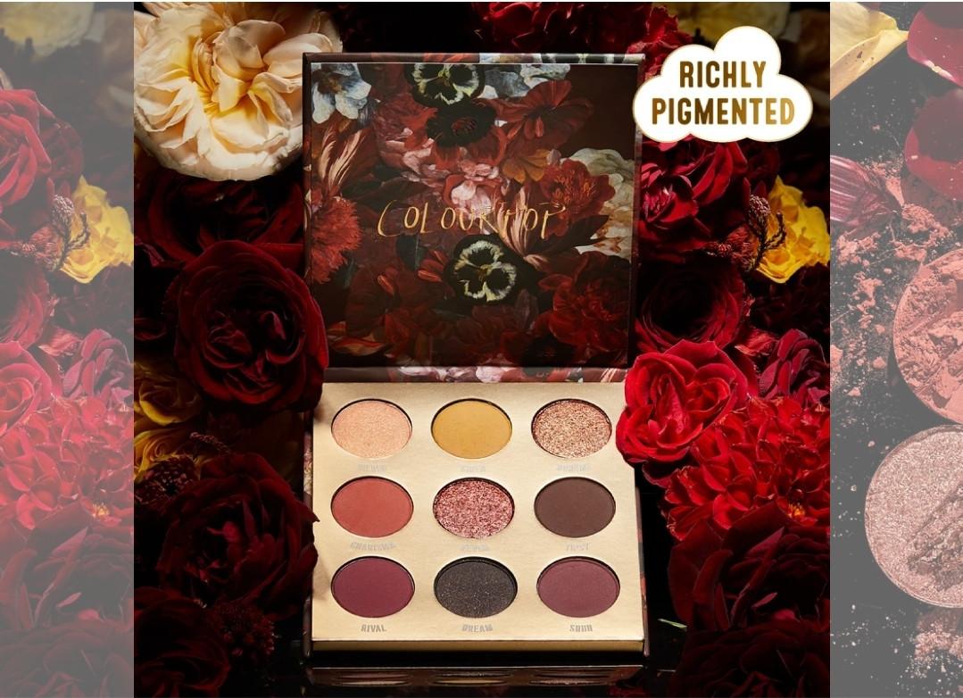 Палетка теней ColourPop Ornate Eyeshadow Palette Review & Swatches