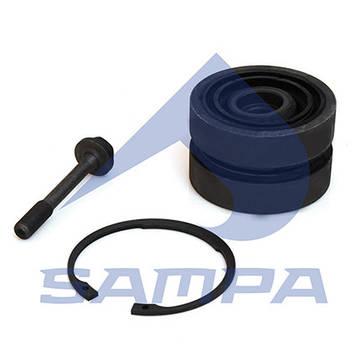 Ремкомплект (сайлентблок) лучевой тяги DAF/MB Aсtros центр/рез. 108x60,5 0003501705