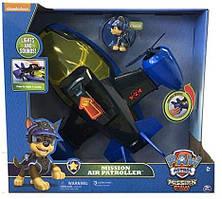 Paw Patrol Щенячий патруль Літак-патрулевоз синій PAW Patrol Mission Paw - Повітряний патруль