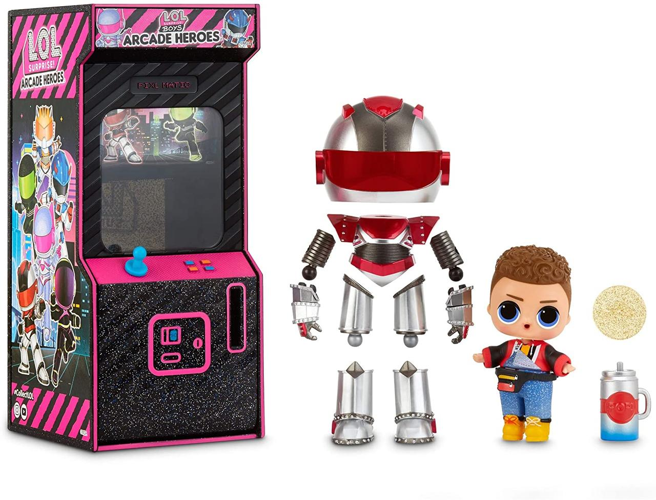 L.O.L. Surprise! Мальчики Космонавты Герои аркады Gear Guy Titanium  Boys Arcade Heroes