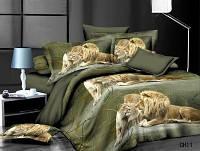 Комплект постельного белья двухспальный сатин