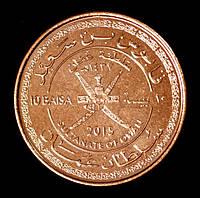 Монета Омана 10 байс 2015 г., фото 1