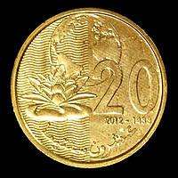 Монета Марокко 20 сантимов 2012 г., фото 1