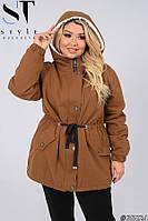Куртка женская на овчине Размеры: 52-54, 56-58, 60-62, 64-66