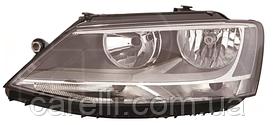Фара левая электро с белой вставкой (тип EUR) для VW JETTA 2011-14
