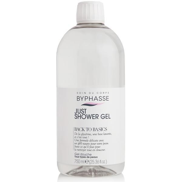Byphasse Just Shower Gel Back To Basics All Skin Types Гель для душа гель 750 мл