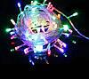 Гирлянда светодиодная разноцветная на 400 LED, фото 4