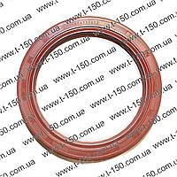 Манжета коленчатого вала задняя Д-21, -144 (красный силикон)