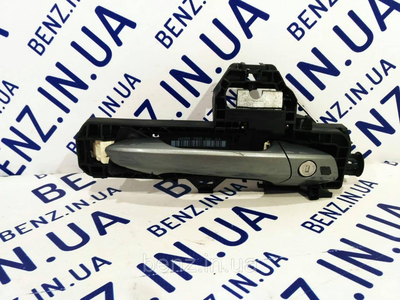Ручка двери передняя правая в сборе W204/W212/X204/W166/C207/X156 A2047601470 / A2047600634