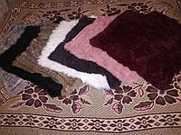 Меховой платок из кролика . Накидка, пончо, шаль.