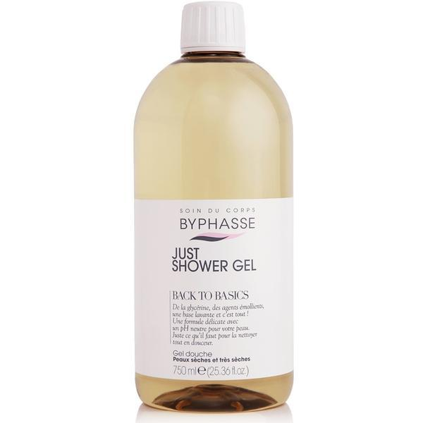Byphasse Just Shower Gel Back To Basics Dry And Very Dry Skin Гель для душа гель 750 мл
