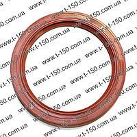 Манжета коленчатого вала задняя Д-240 (красный силикон) 240-1002305