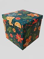 """Подарункова збірна коробка """"Чарівне свято"""", 220*220*220 мм"""