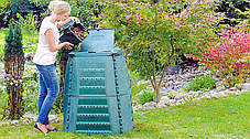 """Промышленно-бытовой фильтр """"под фланец"""" FSU для мусорных баков и садовых компостеров, фото 3"""