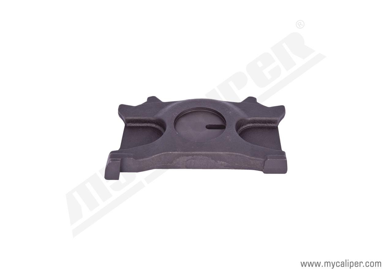 Плита тормозных колодок суппорта HALDEX MAXX 22 (MAN-TGX, TGS) TYPE левая