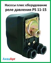Насоси плюс обладнання реле тиску PS 11-15