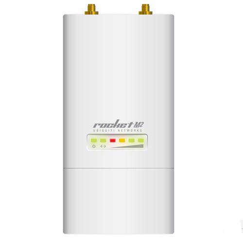 Точка доступа (зовн.) Ubiquiti Rocket M2 (RocketM2), 1xLAN, PoE in, 2,4 GHz, 802.11b/g/n, AirMax, 29dBm, 2*2