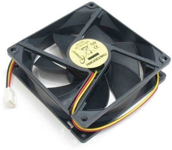 Охолоджувач Cooler Gembird D6025SM-3, 60x60x25 мм, підшипник ковзання, середня швидкість, 3 pin, гуртова