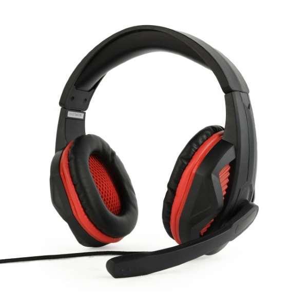 Навушники / Гарнітури HeadPhone+Mic Gembird GHS-03 з  мікрофоном, регулятор гучності, чорний (код 103674)