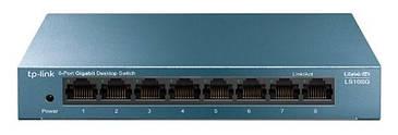 Комутатор TP-Link LS108G (8-портовий 10/100/1000 Мбіт/с настільний коммутатор LS108G) (код 112740)