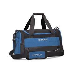 Дорожня сумка RIVACASE 5235 Чорний з блакитним (5235 (Black/blue)) (код 113550)