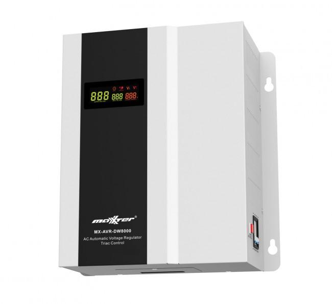 Стабілізатор напруги Maxxter MX-AVR-DW8000-01 8000ВА (MX-AVR-DW8000-01) (код 103976)