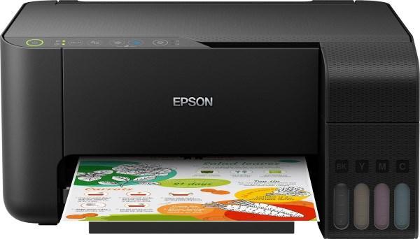 Багатофункціональний пристрій MFP А4 Epson L3150 (C11CG86409) (кольоровий принтер (4color)/сканер/копір,