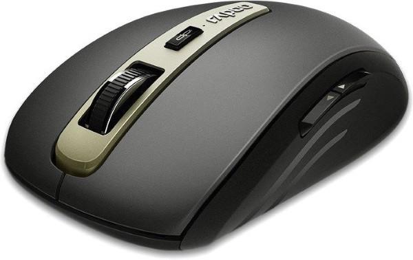 Ведмедик Мишка Rapoo MT350 Wireless multi-mode black (код 100852)